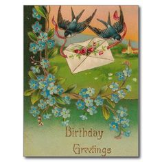 >>>This Deals          	Vintage Birthday Postcard Birds and Flowers           	Vintage Birthday Postcard Birds and Flowers in each seller & make purchase online for cheap. Choose the best price and best promotion as you thing Secure Checkout you can trust Buy bestThis Deals          	Vintage B...Cleck Hot Deals >>> http://www.zazzle.com/vintage_birthday_postcard_birds_and_flowers-239346109846261679?rf=238627982471231924&zbar=1&tc=terrest