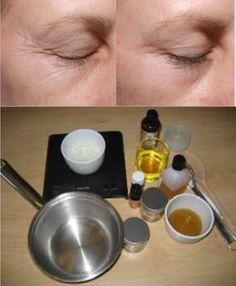 MUJER CON ESTILO: Cómo hacer crema casera antiarrugas para el contor...