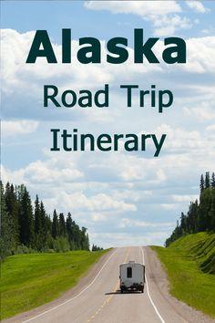 Alaska Road Trip Itinerary - Driving from Washington State to Alaska and back