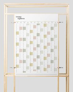 Your entire year at a glance. Get a head start on 2018 with this practical but stylish PRINTABLE full year wall planner. Its ideal for keeping track of upcoming events, with space to record birthdays, appointments or special occasions. The months are printed in vertical columns, and with Full Year Calendar, 2021 Calendar, Blank Calendar, Wall Planner, Year Planner, Portrait Wall, Box Shelves, Free Printable Calendar, Colored Highlights