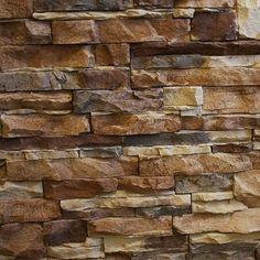 Native Custom Stone GO-Stone Panels -Manufactured Stone Veneer Go-Stone Panels - Cedar Creek Flats / varies / Flat / 5 Square Feet Stone Siding, Stone Cladding, Stone Exterior, Log Siding, Faux Stone Walls, Stone Veneer Panels, Manufactured Stone Veneer, Home Exterior Makeover, Vinyl Siding
