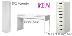 Sunshine!: Designing My New Makeup Vanity Room! Awesome!! Already found most of the stuff to do it!