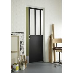 1000 images about cloison coulissante on pinterest - Porte coulissante en applique leroy merlin ...