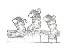 house mouse stamps - Google Search