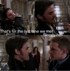Hook and Charming bromance in the making ;)