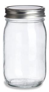 For those of you looking for cheap quart sized Mason jars in bulk, you can get 1-119 for $0.97, 120-999 for $0.75, and so on. Good ideas for parties, weddings, and special occasions. They also have smaller jars available.
