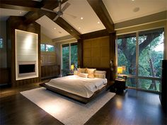 Modern, clean lined master bedroom - Bedroom Designs - Decorating Ideas - HGTV Rate My Space