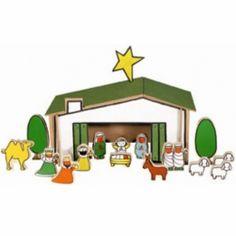 Zo leuk! de houten kerststal van Dick Bruna