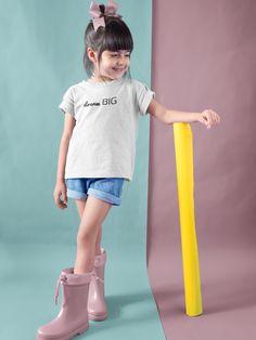 dream BIG Kids' T-Shirt Smoothie Shop, Kids Wardrobe, Do Homework, Big Little, Positive Mindset, Women Empowerment, Dream Big, Big Kids, Mindfulness