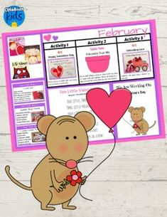 Valentines Day Lesson Plan For Toddlers