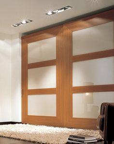 Italian wardrobe with sliding doors from the Bordo range