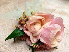 Ranunculus corsage.