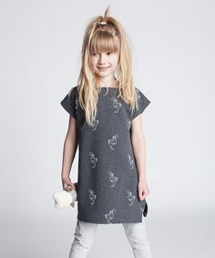 This Dodo Graphite Scribble Cutout-Back Tunic - Kids & Tween by Dodo is perfect! #zulilyfinds