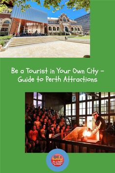 See Perth city from a different perspective, and see our guide of family-friendly attractions and tours in the Perth CBD here. #perth #perthattractions # perthcity Different Perspectives, Perth, Attraction, Tours, City, Cities