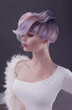 2019 Optimal Power Flow Exotic Hair Color Ideas for Hot and Chic Celebrity Hairstyles 2019 Optimaler Kraftfluss Exotische . Exotic Hair Color, Pink Haircut, Color Fantasia, Competition Hair, Creative Hair Color, Editorial Hair, Edgy Hair, Fantasy Hair, Creative Hairstyles