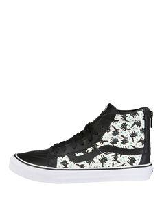 Sneaker unisex  VANS SK8-HI-SLIM-ZIP Nero - Primavera Estate - titalol