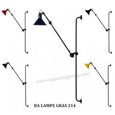 Bernard Albin Lampe Gras Model 214 Wall Lamp | Wall Lamp| Designer Lighting