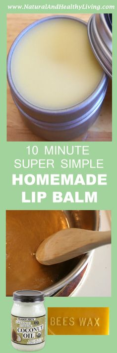 In this diy tutorial, we'll teach you how to make a homemade lip balm from scratch. It's super simple and only uses natural ingredients!