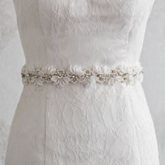 Cheap bridal accessories belts sashes, Buy Quality wedding belt rhinestone directly from China wedding belt crystal Suppliers: Floral Bridal Belts With Crystal 2017 Rhinestone Pearls Wedding Party Bride Bridesmaid Dress Belts Bridal Sashes Accessories