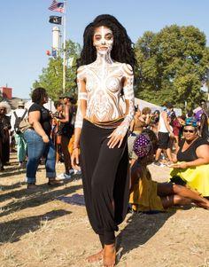 Follow me @Chloe Lanez. Afro punk.