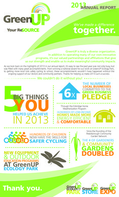 46 best nonprofit annual report infographics images on pinterest