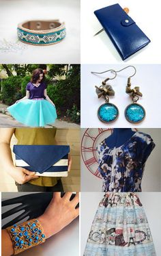 Blue Finds by Olivia on Etsy--Pinned with TreasuryPin.com Blue, Etsy