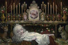BetweenMirrors.com   Alt Art Gallery: Mark Ryden - King of Pop Surrealism