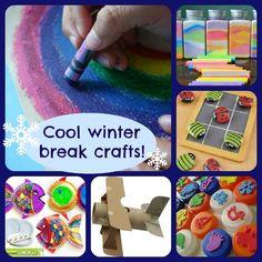 kids crafts for winter break