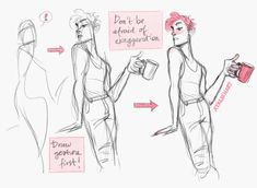 Art Tutorials & References — Do any of the mods have tips for drawing a full. Drawing Reference Poses, Anatomy Reference, Drawing Poses, Drawing Tips, Drawing Stuff, Anatomy Sketches, Anatomy Drawing, Art Sketches, Gesture Drawing