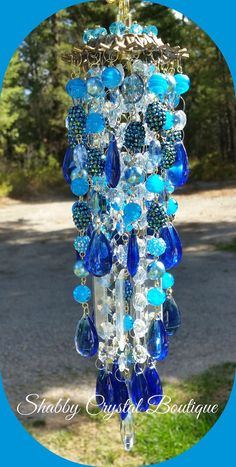 Hey, I found this really awesome Etsy listing at https://www.etsy.com/listing/248703383/melinda-crystal-wind-chime