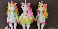 Crochet unicorn amigurumi pattern is so sweet. If it doesn't melt your heart, nothing will! If you love unicorns or know a girl who does