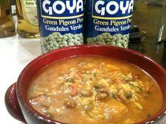 Goya de Puerto Rico - Recetas - Chef Rosita - Asopao de Pollo conGandules