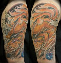 Kitsune tattoo idea
