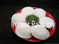 Instant Rava Idli from Somya's Kitchen on YouTube