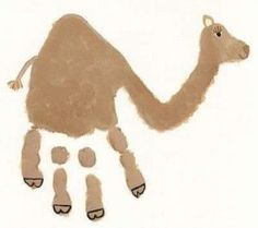 camel-handprint-crafts