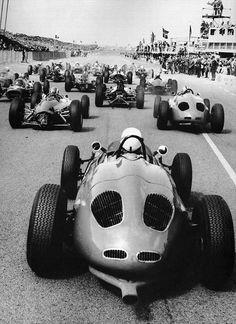 Start of the 1963 Dutch Grand Prix