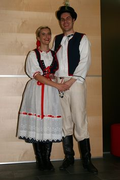 Trenčínský kroj, Slovakia Folk Costume, Costumes, Travelling, Folk Clothing, Outfits, Embroidery, Blog, Ideas, Fashion