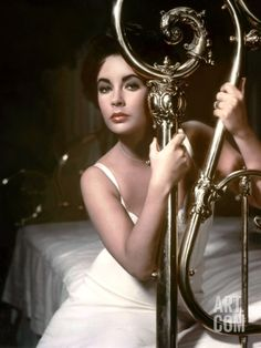 Cat on a Hot Tin Roof - Based on the Tennessee Williams play and staring Elizabeth Taylor in the role of Maggie the Cat. Also staring Paul Newman. Golden Age Of Hollywood, Vintage Hollywood, Hollywood Glamour, Hollywood Stars, Classic Hollywood, Hollywood Icons, Hollywood Divas, Paul Newman, Edward Wilding