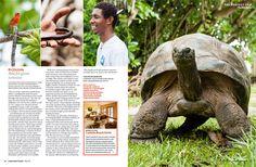 Cousin Island Seychelles on Lonely planet Traveller Mag - http://cousinisland.net/visit
