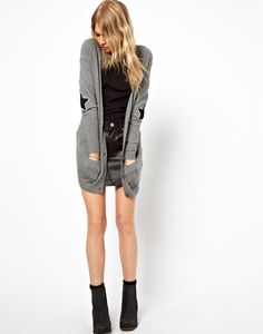 *free ship* Star Elbow Patch Cardigan from Euphoria
