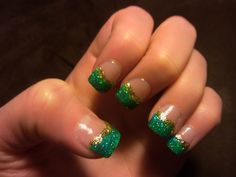 St. Patti's Day Nails.