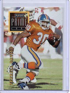 1996 Playoff Prime #163 Denver Broncos Terrell Davis