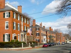 Amazing historical homes at Washington Square in downtown #Salem MA. Here's more on downtown Salem: http://newenglandtravelnews.blogspot.com/2012/03/essex-st-pedestrian-mall-in-salem-mass.html