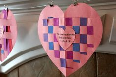 valentines day craft for kids- we love because he first loved us