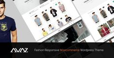 Buy Avaz - Fashion Responsive WooCommerce Wordpress Theme by snstheme on ThemeForest. Avaz has Home page layout, Header styles and with powerful features, easy to customize, power admin, cool effec. Template Wordpress, Tema Wordpress, Premium Wordpress Themes, Themes Free, Cool Themes, E Commerce, Free Slider, Blog Layout, Ecommerce