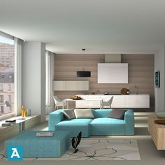 Elegant Only One Interior Design #software #3D To Realize Your __ #KITCHEN PROJECTS  __ Request Your #free #demo On Arredocad.com #design #interior #render #3D  ...