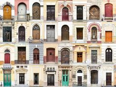 Romania - Portuguese photographer André Vicente Gonçalves Captures Charming Diversity of Colorful Front Doors from Around the World - My Modern Met