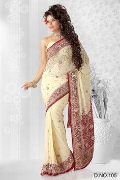 Google Image Result for http://pimg.tradeindia.com/00641975/b/4/Buttery-Cream-Georgette-Saree-.jpg