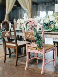 Ideas para la decoración de sillas de boda 2016: ¡Te encantarán! Image: 6