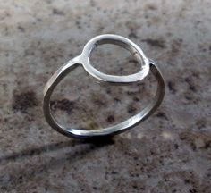 Hey, I found this really awesome Etsy listing at https://www.etsy.com/listing/150091010/silver-circle-ring-circle-ring-silver